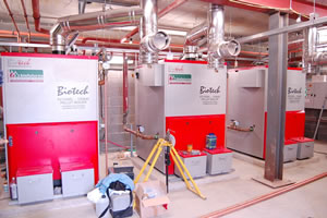 Commercial Biomass Installations