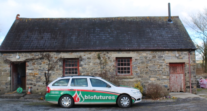 Biofutures at Biomass Boiler Installation Site, Carmarthenshire