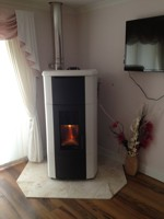 Palazzetti Pellet Stoves save space