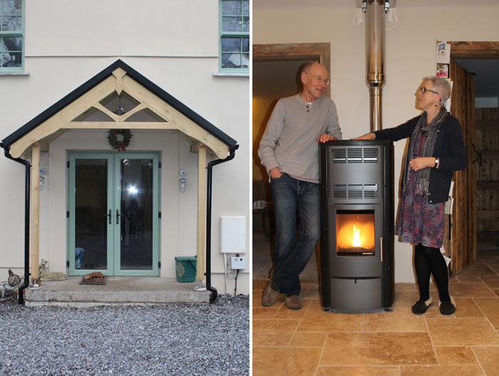 New biomass installation keeps house comfortable
